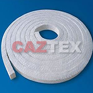 Asbestos packing with PTFE