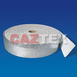 Dusted asbestos Tape with Aluminium
