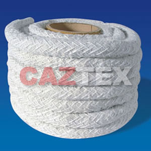 Dust free asbestos lagging rope