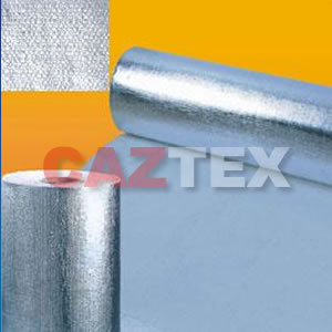 Ceramic Fiber cloth with Aluminum