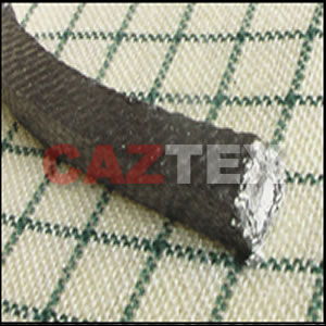 Wire reinforced Graphited Asbestos packing with rubber